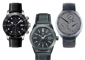 The best all-black watches at every price point