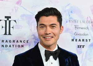 Henry Golding channels Jay Gatsby at Fragrance Awards