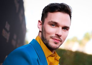 Nicholas Hoult is on the seventies style bandwagon