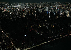 Business as usual in New York as huge power outage hits the city