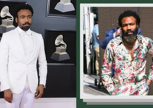 Donald Glover's 'Lion King' press tour style is exceptionally good
