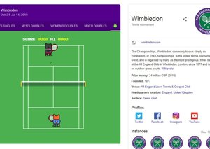 Google gives tennis fans a Wimbledon mini-game