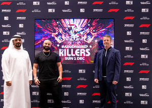 The Killers will headline Abu Dhabi Formula 1 2019 concert