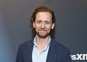 Tom Hiddleston revises the pinstriped suit