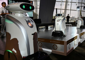 Singapore unleashes army of friendly robots on its city