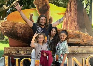 Jason Momoa cried 'lots' during The Lion King screening