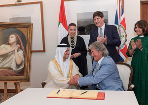 Mary Magdalene painting was just gifted to Abu Dhabi by the UK