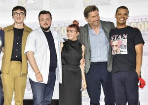 Stars of Game of Thrones faced backlash head-on at Comic-Con