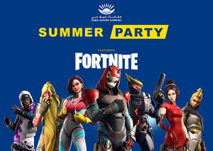 Fortnite season 10 is launching at Dubai Summer Surprises
