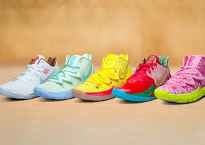 One of the most colourful Nike releases ever: the Spongebob collab