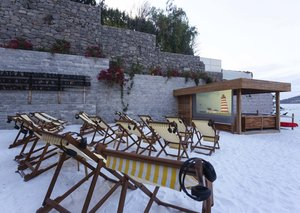 The Bodrum Edition hotel has a cinema on the beach