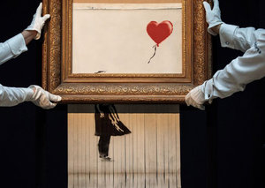 One of the largest Banksy exhibitions ever will open soon