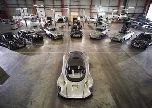 Aston Martin shows off all its 007 cars in Bond 25