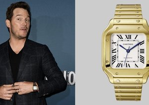 Chris Pratt understand the importance of a Cartier