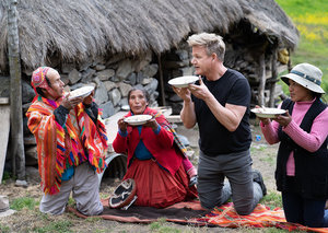 Gordon Ramsay launches new travel-and-cooking-show on National Geographic