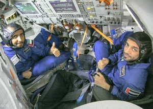 Traditional Emirati dishes are going to space