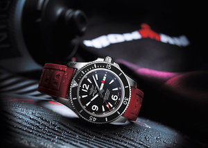 Breitling partners with Ironman for Limited Edition Superocean watch