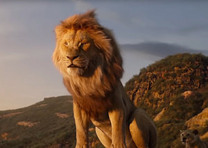 There was one shot in The Lion King that wasn't CGI