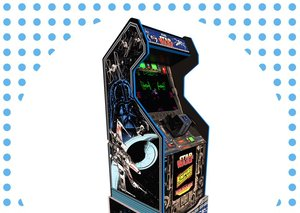 The Star Wars arcade mini-cabinet is now up for pre-order