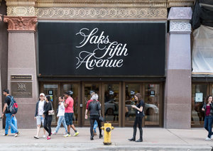 Saks Fifth Avenue in New York has opened a shoe floor just for men