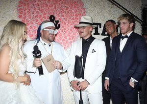 A fight broke out at Youtuber Jake Paul's $500,000 Las Vegas wedding