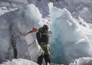 Bally's first clean-up expedition targets Mount Everest