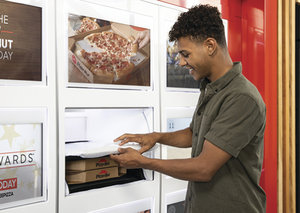 Pizza Hut is testing out heat lockers for pick-up orders