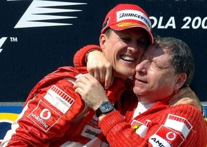 Ex-Ferrari boss Jean Todt reveals Michael Schumacher's condition has improved