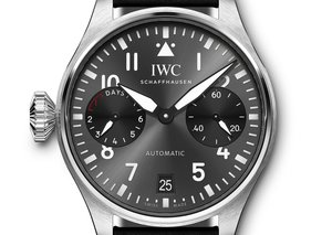IWC's Big Pilot Line goes right handed