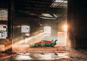 The BMW M1 Art Car by Andy Warhol celebrates 40th anniversary