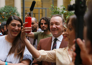 In pictures: Kevin Spacey's first public appearance in 2 years