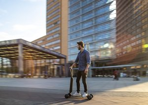 Audi moves into skateboard territory with the E-Tron scooter
