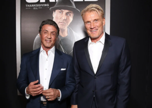 Sylvester Stallone and Dolph Lundgren team up for The International