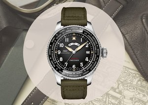 IWC's new watch was made to fly around the world