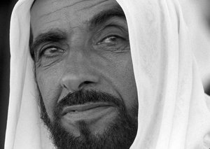Watch original footage of Sheikh Zayed becoming ruler in 1966