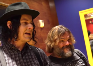 Jack Black and Jack White are officially making music together
