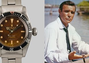 James Bond's rarest Rolex is going up for auction