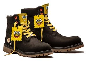 The SpongeBob x Timberland collection make showing our childish side cool again