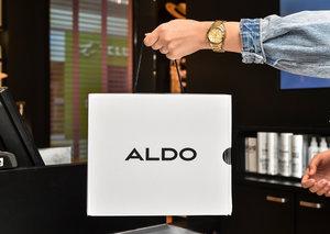 For Aldo, plastic bags are no longer in fashion
