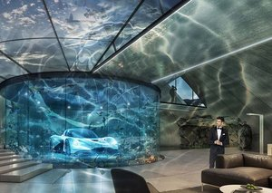 Aston Martin now offers a bespoke supervillain lair service