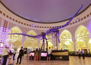 The Dubai dino is looking for a new home and it could be yours for Dhs14.6 million