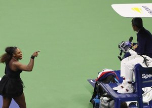 Serena Williams is returning to the US open but will not be anywhere near Carlos Ramos