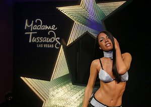 90's singer Aaliyah immortalised forever by Madame Tussauds