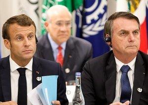 Battle of the Presidents: Brazil's Bolsonaro to accept Amazon aid money if France's Macron apologises