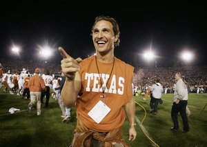 Professor Matthew McConaughey is now teaching university level classes full-time