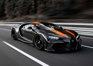 Bugatti has created the first car in the world to break 300 MPH