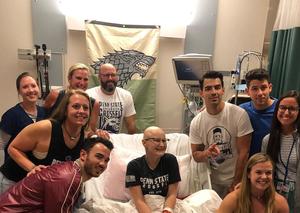 Jonas Brothers and Priyanka Chopra visit sick fan in hospital
