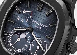 MAD Paris creates a $200,000 blacked-out Patek Philippe Nautilus