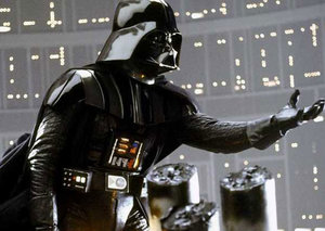 An original $450K Darth Vader mask and helmet is going up for auction