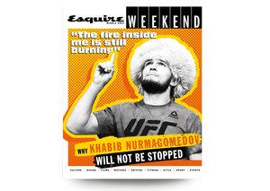 "Khabib Nurmagomedov on his UFC242 Abu Dhabi fight: ""the fire inside me is still burning"""